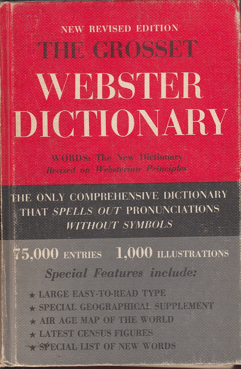 Image for The Grosset Webster Dictionary