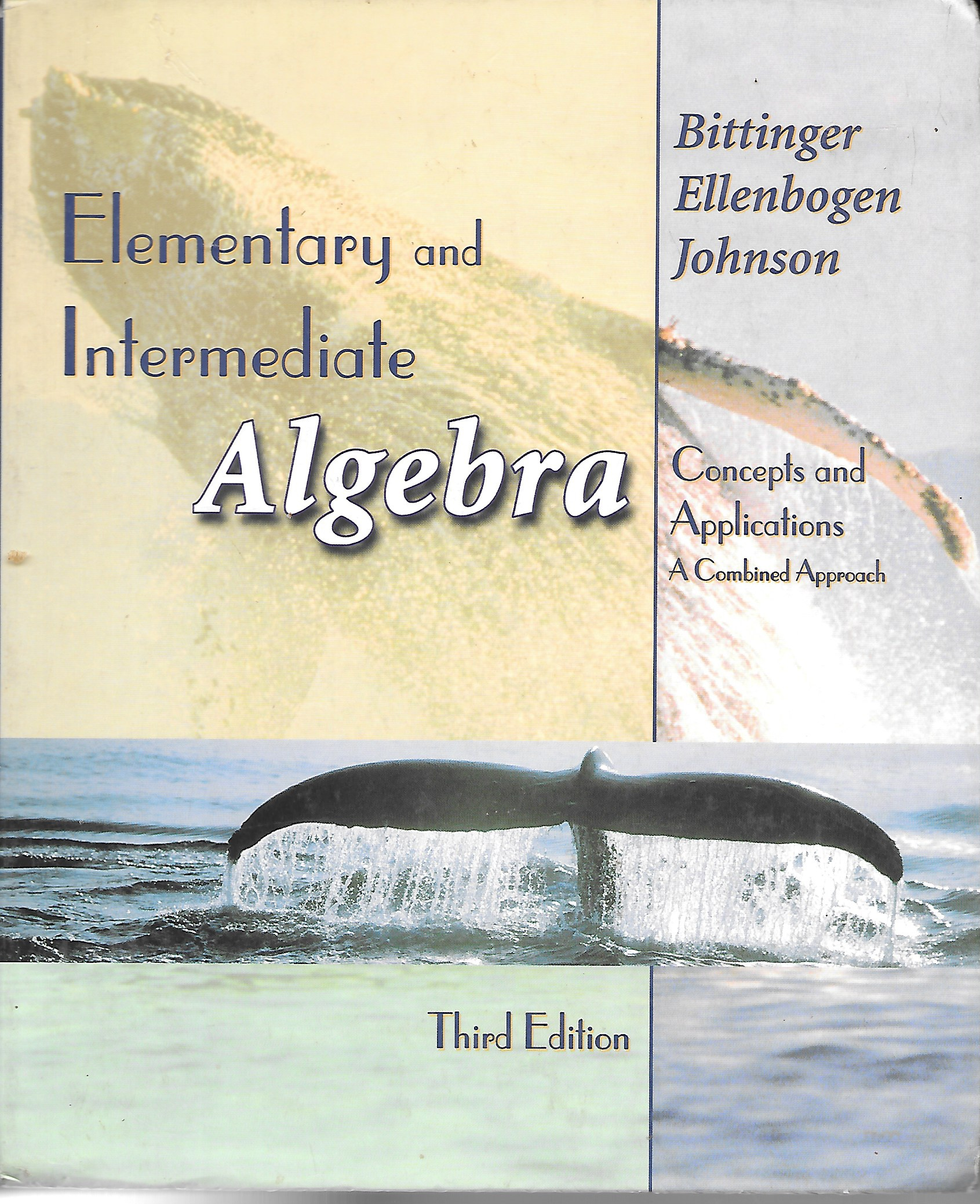 Image for Elementary and Intermediate Algebra Concepts and Applications a Combined Approach