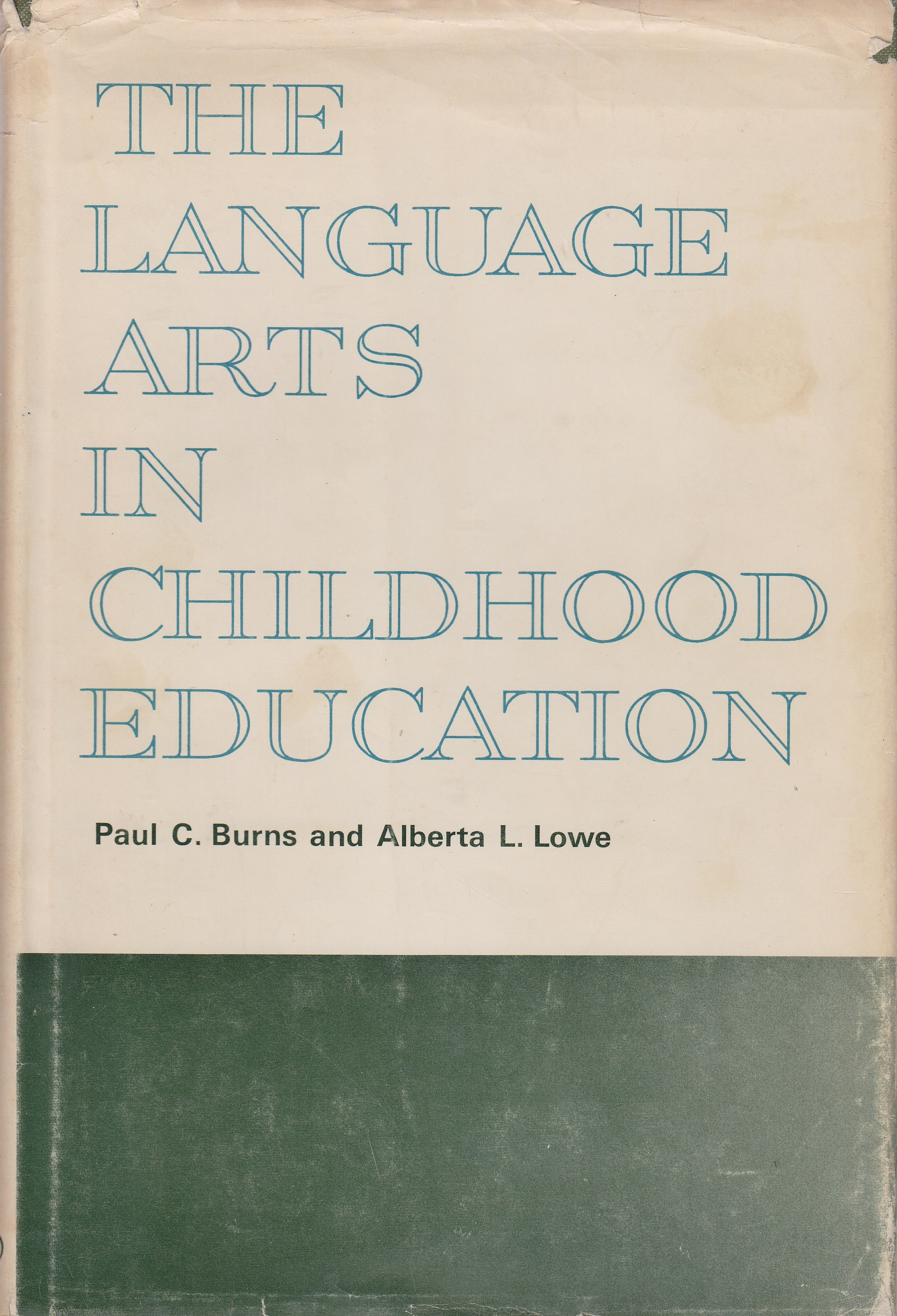 Image for The Language Arts in Childhood Education
