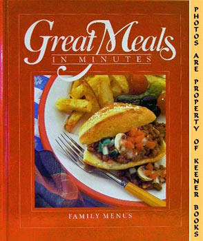 Image for Great Meals In Minutes - Family Menus