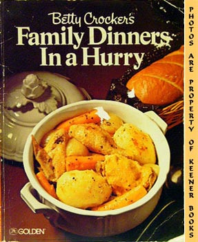 Image for Betty Crocker's Family Dinners In A Hurry