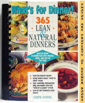 Image for What's For Dinner? (365 Lean & Natural Dinners)