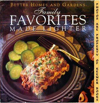 Image for Better Homes And Gardens Family Favorites Made Lighter