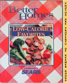 Image for Better Homes And Gardens Low-Calorie Desserts