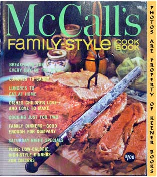 Image for McCall's Family-Style Cookbook, M8: McCall's Cookbook Collection Series