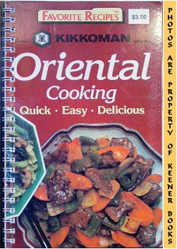 Image for Favorite Recipes - Oriental Cooking - Quick * Easy * Delicious