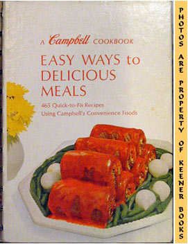 Image for Easy Ways To Delicious Meals: A Campbell Cookbook Series