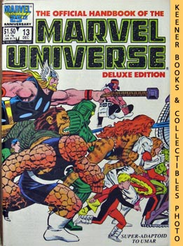 Image for The Official Handbook Of The Marvel Universe, Deluxe Edition: Vol. 2 No. 13, Dec 1986 * Super - Adaptoid To Umar