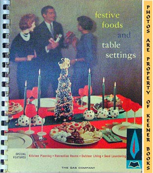 Image for Festive Foods And Table Settings - 1960 Book