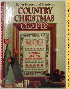 Image for Better Homes And Gardens Country Christmas Crafts