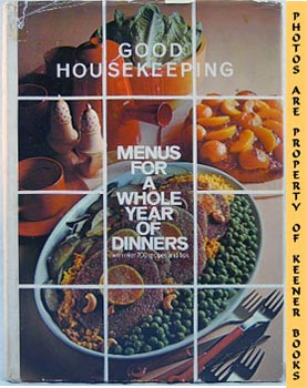 Image for Good Housekeeping Menus For A Whole Year Of Dinners
