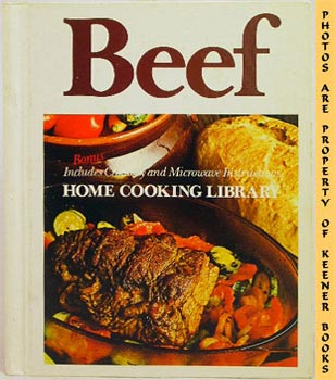 Image for Beef * Includes Crockery And Microwave Instructions: Home Cooking Library Series