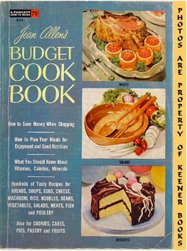 Image for Jean Allen's Budget Cook Book