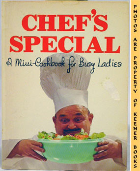 Image for Chef's Special (A Mini - Cookbook For Busy Ladies)
