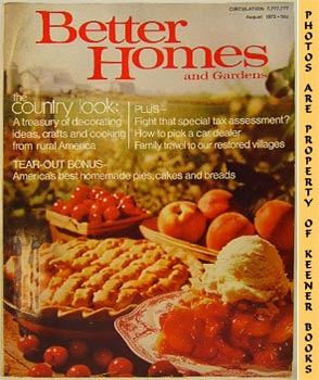 Image for Better Homes And Gardens Magazine (August 1972 Vol. 50, No. 8 Issue)