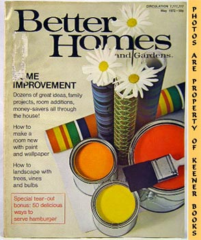 Image for Better Homes And Gardens Magazine (May 1972 Vol. 50, No. 5 Issue)