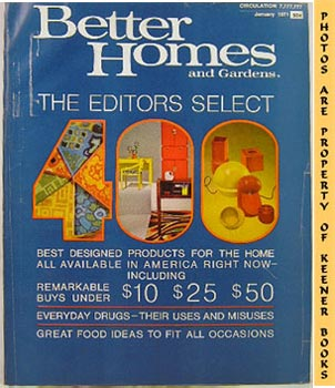 Image for Better Homes And Gardens Magazine (January 1971 Vol. 49, No. 1 Issue)