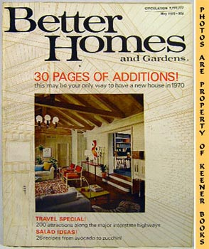 Image for Better Homes And Gardens Magazine (May 1970 Vol. 48, No. 5 Issue)