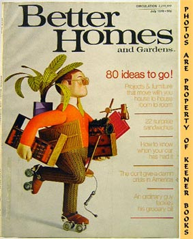 Image for Better Homes And Gardens Magazine (July 1970 Vol. 48, No. 7 Issue)