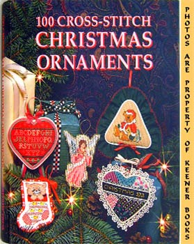 Image for 100 Cross-Stitch Christmas Ornaments