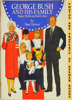 Image for George Bush And His Family Paper Dolls In Full Color