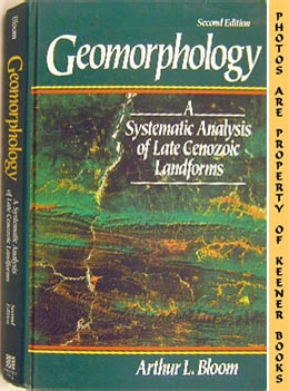 Image for Geomorphology (A Systematic Analysis Of Late Cenozoic Landforms)
