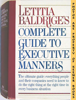 Image for Letitia Baldrige's Complete Guide To Executive Manners