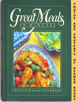 Image for Great Meals In Minutes - Chicken & Game Hen Menus