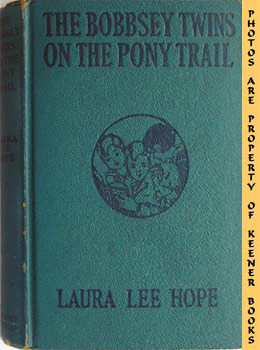 Image for The Bobbsey Twins On The Pony Trail