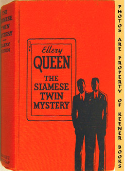 Image for The Siamese Twin Mystery (A Problem In Deduction)