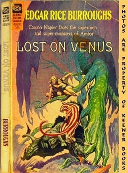Image for Lost On Venus (Ace SS Classic 49500)