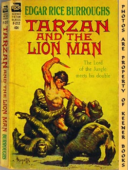 Image for Tarzan And The Lion Man - F-212 : The Lord of the Jungle Meets His Double