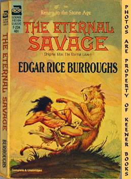 Image for The Eternal Savage - F-234 : Return To The Stone Age  (Original Title: The Eternal Lover)