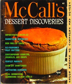 Image for McCall's Dessert Discoveries, M7: McCall's Cookbook Collection Series