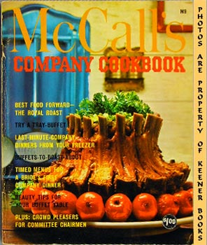 Image for McCall's Company Cookbook, M9: McCall's Cookbook Collection Series