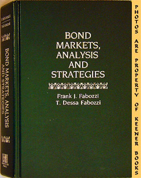 Image for Bond Markets, Analysis And Strategies