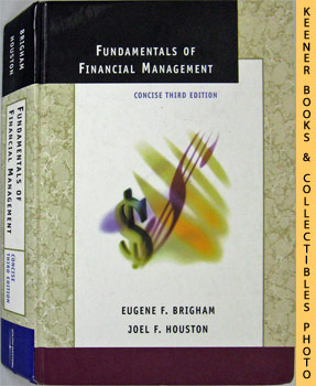 Image for Fundamentals Of Financial Management (Concise Third Edition)