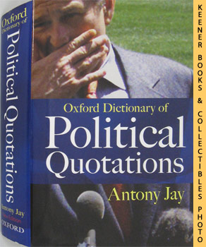 Image for Oxford Dictionary Of Political Quotations