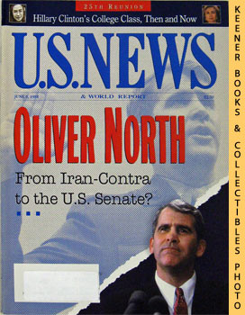 Image for U. S. News & World Report Magazine - June 6, 1994 (Oliver North - From Iran - Contra To The U. S. Senate?)