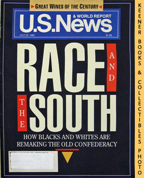 Image for U. S. News & World Report Magazine - July 23, 1990 (Race And The South)