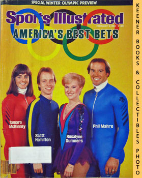 Image for Sports Illustrated Magazine, February 6, 1984 (Vol 60, No. 5) (Special Winter Olympic Preview - America's Best Bets - Tamara McKinney * Scott : Hamilton * Rosalynn Sumners * Phil Mahre