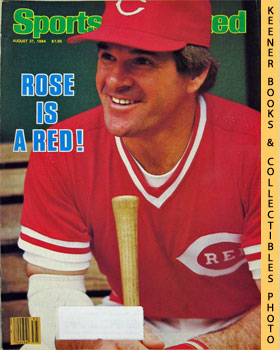 Image for Sports Illustrated Magazine, August 27, 1984 (Vol 61, No. 10) : Rose Is A Red!