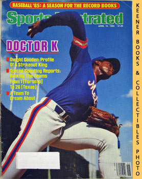 Image for Sports Illustrated Magazine, April 15, 1985 (Vol 62, No. 15) : Baseball '85: A Season For The Record Books - Doctor K