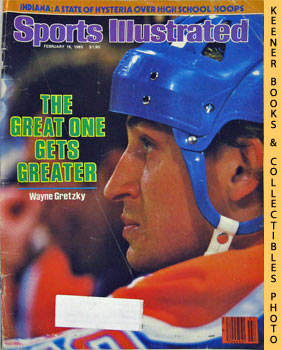 Image for Sports Illustrated Magazine, February 18, 1985 (Vol 62, No. 7) : The Great One Gets Greater - Wayne Gretzky