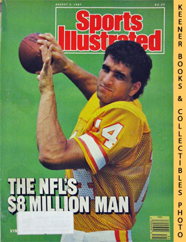 Image for Sports Illustrated Magazine, August 3, 1987 (Vol 67, No. 5) : The NFL's $8 Million Man - Vinny Testaverde