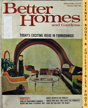 Image for Better Homes And Gardens Magazine (February 1970 Vol. 48, No. 2 Issue)