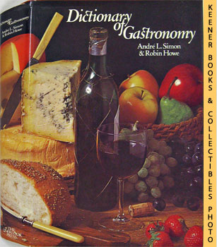 Image for Dictionary Of Gastronomy
