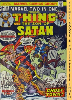 Image for Marvel Two-In-One - The Thing And The Son Of Satan: Vol. 1, No. 14, March, 1976