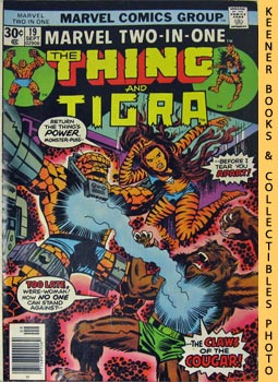 Image for Marvel Two-In-One - The Thing And Tigra: Vol. 1, No. 19, Sept, 1976