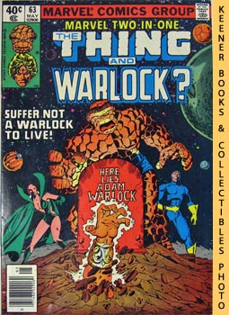 Image for Marvel Two-In-One - The Thing And Warlock?: Vol. 1, No. 63, Nov, 1980